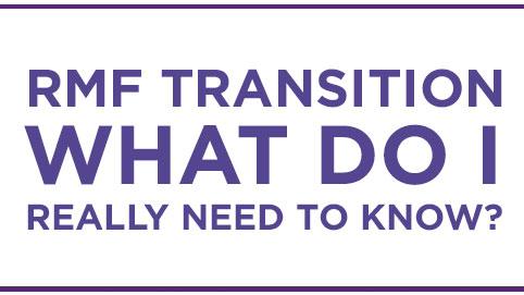 RMF Transition Training Course